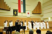 Ito Tecuo Japán magyarországi nagykövete és a Theodori Vegyeskar Japánból